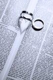 pierścienie Zdjęcia Royalty Free
