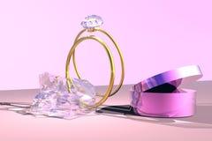 pierścienie royalty ilustracja