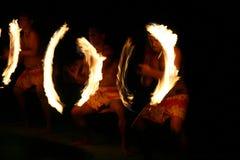 pierścienie ognia Obraz Royalty Free