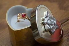 pierścionek obraz stock