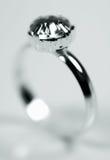 pierścionek z diamentem Zdjęcie Royalty Free