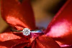 pierścionek z diamentem Fotografia Stock