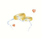 pierścionków target1056_1_ Zdjęcia Royalty Free