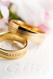 pierścionków target1090_1_ Zdjęcie Stock