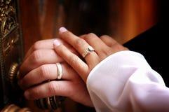 pierścionków target1154_1_ Obrazy Royalty Free