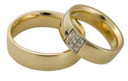 pierścionków target1218_1_ fotografia stock