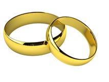 pierścionków target1400_1_ Obrazy Royalty Free