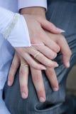 pierścionków target1562_1_ Zdjęcie Royalty Free