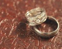 pierścionków target1652_1_ Zdjęcia Stock