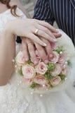 pierścionków target1661_1_ Obraz Royalty Free