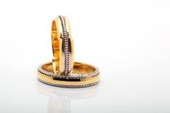 pierścionków target1684_1_ Zdjęcie Stock