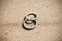 pierścionków target1749_1_ Zdjęcie Stock