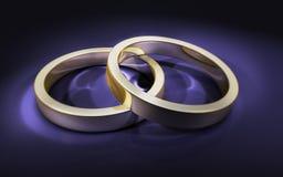 pierścionków target1767_1_ Obraz Stock