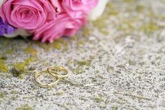 pierścionków target1807_1_ Obrazy Stock