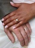 pierścionków target1836_1_ Zdjęcie Royalty Free