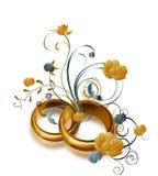 pierścionków target1867_1_ Obrazy Royalty Free