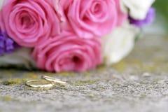 pierścionków target1867_1_ Zdjęcie Royalty Free