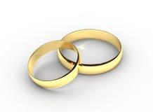 pierścionków target19_1_ Obrazy Royalty Free