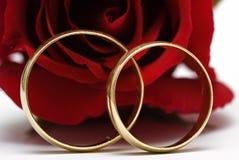pierścionków target2343_1_ Zdjęcie Royalty Free