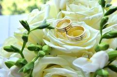 pierścionków target2563_1_ Zdjęcia Royalty Free