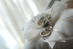 pierścionków target331_1_ Fotografia Stock