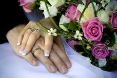 pierścionków target3397_1_ Obraz Royalty Free