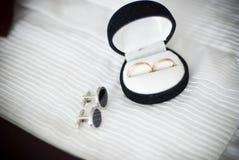 pierścionków target366_1_ Zdjęcia Royalty Free