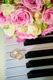 pierścionków target3864_1_ Obrazy Royalty Free