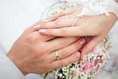 pierścionków target451_1_ Zdjęcie Royalty Free