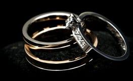 pierścionków target598_1_ Fotografia Royalty Free