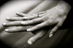 pierścionków target860_1_ Zdjęcia Stock