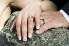pierścionków target938_1_ Obraz Stock