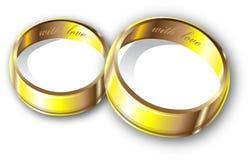 pierścionków target968_1_ Zdjęcie Stock