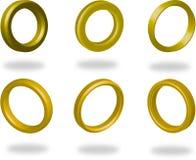 pierścionki Zdjęcia Royalty Free