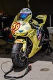 Pierścionku motocyklu rasy Obraz Royalty Free