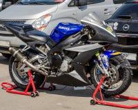 Pierścionku motocyklu rasy Fotografia Royalty Free