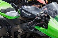 Pierścionku motocyklu rasy Fotografia Stock