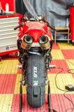 Pierścionku motocyklu rasy Zdjęcie Royalty Free