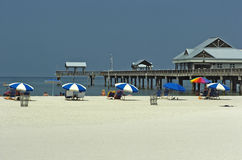 Pier Clearwater Beach Royalty Free Stock Images