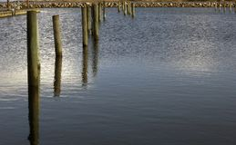 Pier columns composition Stock Photography