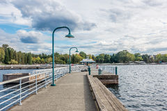 Pier At Coulon Immagini Stock
