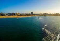 Pier Day della veccia di Durban Fotografia Stock