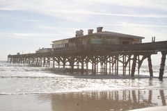 Pier on Daytona Beach, Florida Stock Photography