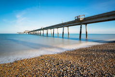 The Pier at Deal in Kent. Seaside pier at deal in Kent Stock Image