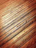 Pier deck Stock Photography