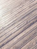 Pier deck Royalty Free Stock Image