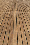 Pier decking Stock Photography