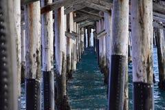Pier in der Farbe Lizenzfreies Stockbild