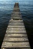 Pier an der Küste Lizenzfreie Stockfotos