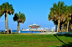 Pier des St- Petersburg, Florida Lizenzfreies Stockfoto
